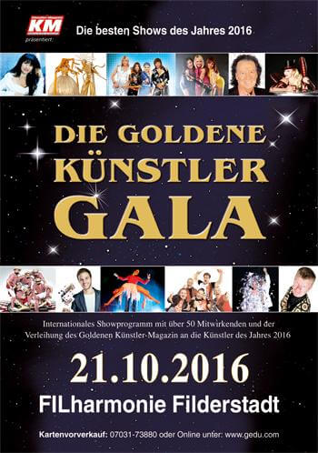 Die Goldene Künstler Gala 2016