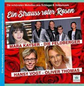 Ein Strauß roter Rosen 2020
